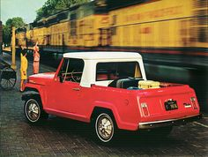 1967 Jeep Jeepster Commando Pick-Up by aldenjewell, via Flickr