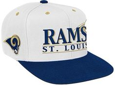 NFL St. Louis Rams Snapback Hats Hats Caps White 4922|only US$8.90
