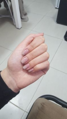 Faded nails