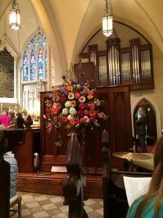 Grace Episcopal Church, Charleston, Easter 2014