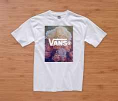 VANS FLORAL HIPSTER tshirt hipster dope tumblr prada chanel shirt quote
