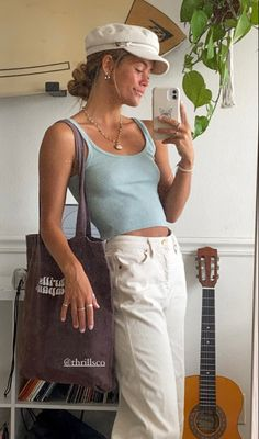 Mode Outfits, Fashion Outfits, Style Feminin, Tumbrl Girls, Mein Style, Mode Inspiration, Looks Style, Cute Casual Outfits, Look Fashion