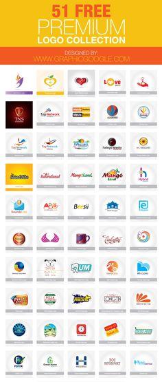 51 Free Premium Logo Collection