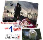 PLAID COPERTA PERSONALIZZABILE CON FOTO MATRIMONIALE IN PILE MIS. 200X150