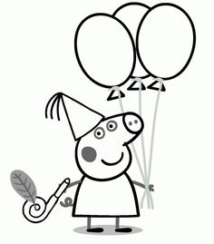free printable coloring pages | crafts/decorating | pinterest ... - Peppa Pig Coloring Pages Print