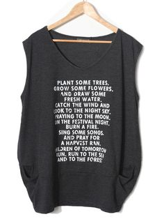 Plant some Trees. Grow some flowers. And draw some fresh water. Catch the wind and look to the night sky. Praying to the moon. On the festival night. Burn a fire. Sing some songs. And pray for a harvest rain. Children of tomorrow run. Run to the sea and to the forest.