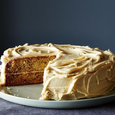 Banana Cake with Penuche Frosting recipe on Food52