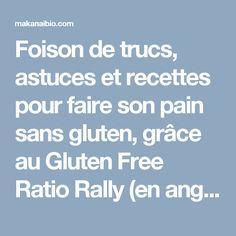 ... gluten, grâce au Gluten Free Ratio Rally (en anglais