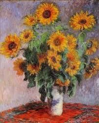 Monet - Sunflowers