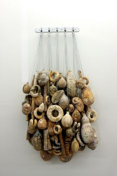 david hicks ...I could see creating something like this with seashells and beach findings with my own things!