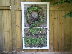 Using doors and windows in the garden - a gallery of ideas