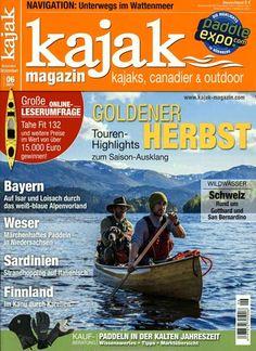 Goldener Herbst - Touren-Highlights. Gefunden in: Kajak-Magazin, Nr. 6/2015