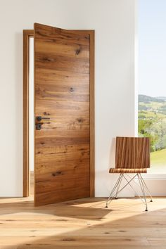 Solid wood door Ecoline Granada – www.at Mas … – Door Types Flush Door Design, Main Door Design, Front Door Design, Wooden Door Design, Wooden Doors, External French Doors, Modern Interior, Interior Design, Indoor Doors