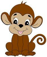 free monkey clip art images cute baby monkeys dey all axed for rh pinterest com monkey clipart black and white free cartoon monkey clipart free