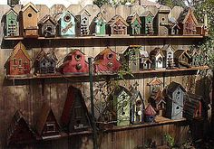 Rustic Birdhouses | The website is a treasure trove of beauties where the difficulty of ...