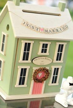 DIY Wedding Card Box « Wedding Ideas, Top Wedding Blog's, Wedding Trends 2014 – David Tutera's It's a Bride's Life@Tootie