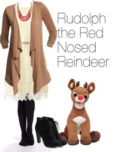 Outfits Inspired by Christmas: Rudolph