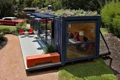 contemporary shed roof garden - Google Search