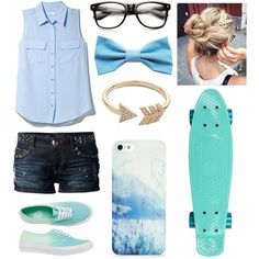 """Penny boarding"" by jenster45 on Polyvore"