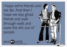made me laugh. I have a few good friends who would be good people to do this with!