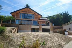 Vision Bois - Réalisations - maison bois poteau poutre Haute Savoie st Cergues