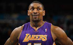 5b9a2bce71d Lakers forward Metta World Peace suspended seven games for his elbow to the  head of Oklahoma