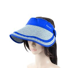 We provide the best and most affordable quality customized Adjustable Brim Straw Visor, custom Adjustable Brim Straw Visor with your logo at guaranteed low price