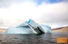 Beautiful Iceberg in Northeast Greenland