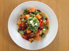Gunns momsemat: Burritos med søtpotet og bønner