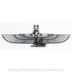 "Egyptian Goddess ""Isis"" Car Emblem"