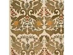 Constantine in Sage / Gold by Mullberry Home via @Kravet / Lee Jofa #fabric #silk #yellow