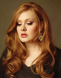 Adele Looking Beautiful The Hair And The Haircolour Haar Make Up Celebrity Makeup