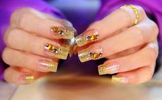 """El """"arte en las uñas"""" o """"nail art"""" como también se le conoce, se está volviendo cada vez más popular en Corea del Sur . Sin embargo, no e..."""