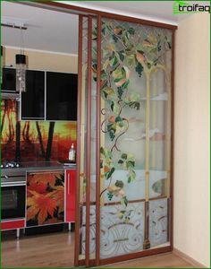 Posuvné interiérové dvere - 50 fotografií z najlepších nápadov