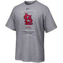 St. Louis Cardinals 2013 NL Central Division Champions Dri-FIT Legend T-Shirt