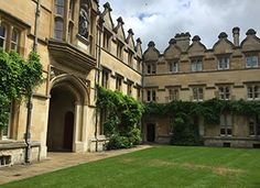 Univ Radcliff Quad Summer 2016 Oxford England, University College, Summer 2016, Beautiful Gardens, Quad, Avon, Bath, Mansions, House Styles