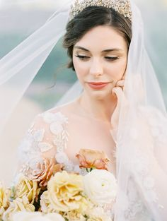This Enchanting Garden Venue Is Straight out of a Jane Austen Novel Jane Austen Novels, Garden Venue, Tiaras And Crowns, Wedding Veil, Brides And Bridesmaids, Dream Wedding Dresses, Bridal Portraits, Perfect Wedding, Bridal Gowns