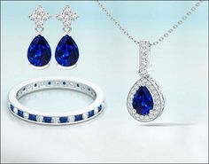Sapphire Jewelry, Natural Sapphire, Must Haves, Bling, Pendant Necklace, Gemstones, Stuff To Buy, Jewel, Gems