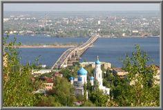 Bucket List #4.. Visit the Saratov, Volga Region of Russia, where my Grandparents came from..Saratov bridge crossing the Volga River