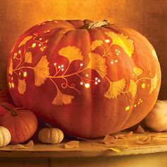 Pick your best pumpkin and have your carving tools to the ready -- it's Halloween! Whether you want to go spooky or goofy, we have tons of Halloween pumpkin ideas for you to choose from and tips on how to safely carve a pumpkin. Pumpkin Template, Pumpkin Carving Templates, Pumpkin Printable, Halloween Pumpkins, Halloween Crafts, Halloween Decorations, Halloween Pumpkin Carvings, Fall Decorations, Halloween Ideas