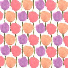 Flowerblobs. #illustration #pattern #flowers