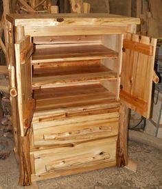 Handcrafted Cedar Wardrobe Armoire