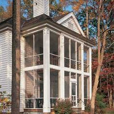 Screening Rooms   Deck, Patio & Porch   Exterior   This Old House