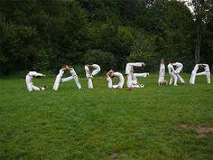 Grupo de Capoeira Semente de Vida.