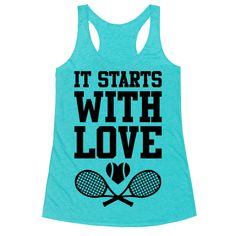It Starts With Love Racerback