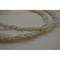 Χειροποίητα στέφανα γάμου από λεμονανθούς Diamond, Bracelets, Silver, Jewelry, Jewlery, Jewerly, Schmuck, Diamonds, Jewels