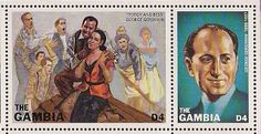 Stamps of George Gershwin