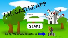 ESL Castle is proud to introduce its new division with the new ESL CASTLE Web App! You can try it at http://www.eslcastle.ca/resources/esl-castle-app/index.html ! You will have to use the folling login and password: LOGIN: free PASSWORD: preview  In fact, ESL CASTLE Web App is a learning game in which students have to collect coins by completing units. With the coins, they can unlock mini-games...