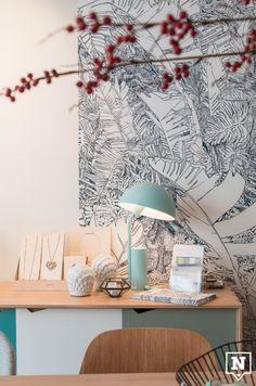 Goûts et Couleurs behangpapier Gouts Et Couleurs, Home Decor, Decoration Home, Room Decor, Interior Design, Home Interiors, Interior Decorating