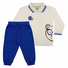 Conjunto Infantil Menino Patinhas - Jaca-Lelé :: 764 Kids Loja Online, Roupa bebê e infantil !